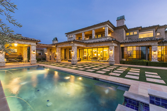 Courtesy photo  This Southern Highlands Country Club home on 46 Olympia Hills Circle was built in 2006. Shapiro and Sher Group, Berkshire Hathaway Home Services has listed it for $8.5 million.