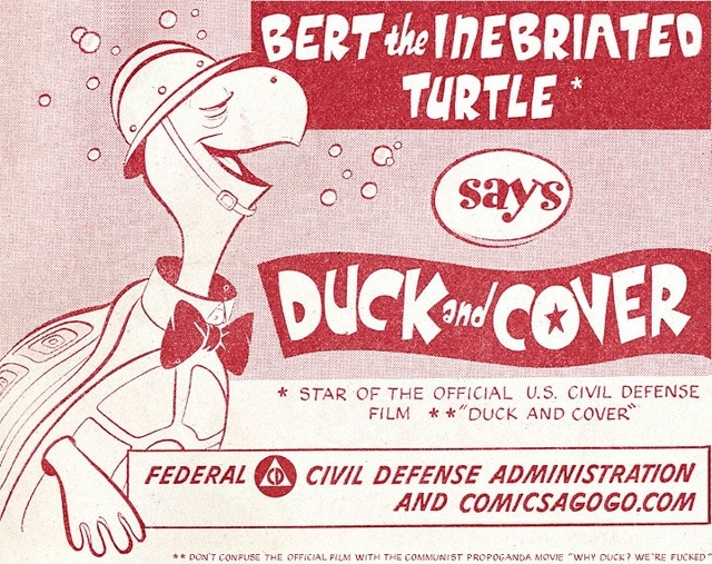 """""""Duck and Cover"""" (Courtesy)"""
