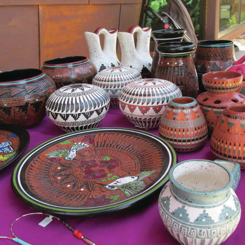 Future Native American Visiting Artist Series events at the Old Las Vegas Mormon Fort  State Historic Park include a Navajo potter displaying works similar to the ones pictured. (Special to View)