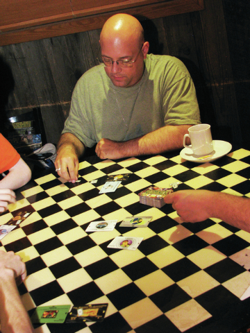 "Tony Polise organizes 17 local game-playing groups through meetup.com. The Game Night Northeast Meetup group played ""Illuminati"" on June 26 at the Juke Joint Bar & Grill, 4230 E. Craig Road. ( ..."