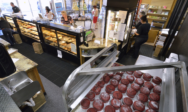 The interior of Freed's Bakery is shown at 9815 S. Eastern Ave. in Las Vegas on Thursday, July 3, 2014. (Bill Hughes/Las Vegas Review-Journal)