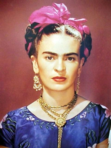 """Mexican artist Frida Kahlo inspires the Spanish-language solo show """"Frida Kahlo: Viva la Vida,"""" to be presented Friday and Saturday at the Winchester Cultural Center. (Courtesy)"""