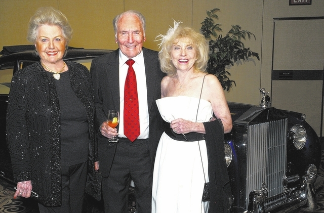 Judy Middleton, from left, and Jack and Ruth Lillis