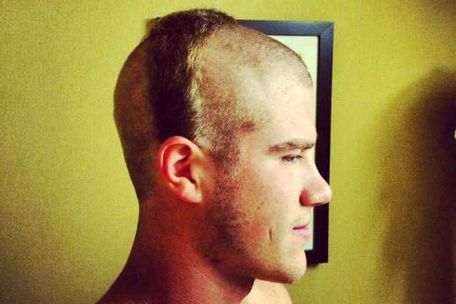 Redskins Give Rookie Hocker Awful Haircut Las Vegas Review Journal