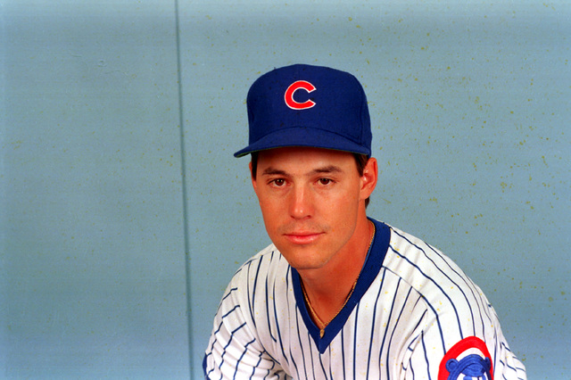 Greg Maddux (31), pitcher for the Chicago Cubs, poses in Chicago, Ill., in 1989.  (AP Photo/Sal J. Veder)
