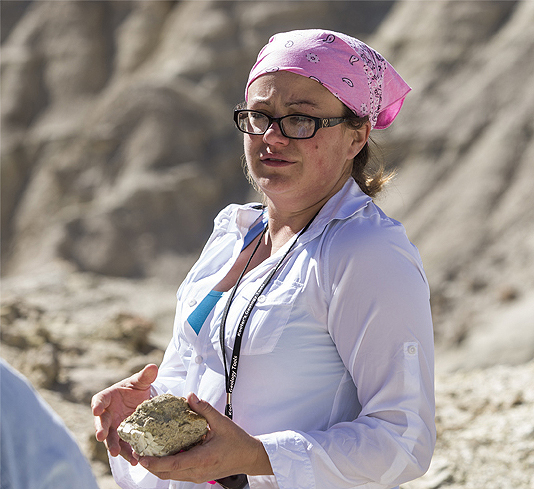 Margarita Rodriguez was just finishing up her bachelor's degree in geology at UNLV when she found a 560-million-year-old, almost microscopic fossil on a dig in Esmeralda County. Her discovery led  ...