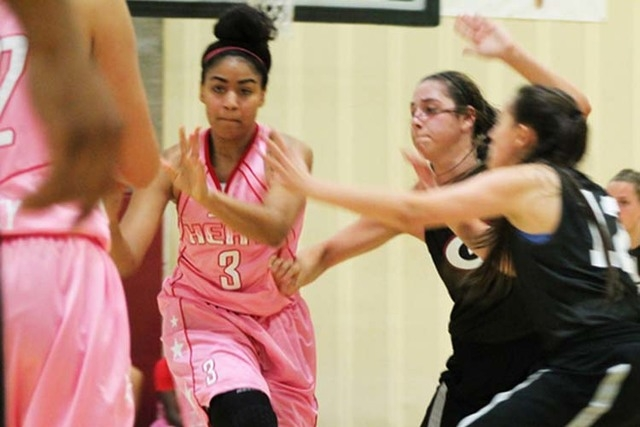 Liberty senior-to-be Paris Strawther has verbally committed to play for the UNLV Lady Rebels. Strawther was a Review Journal first-team all-state selection has a junior.