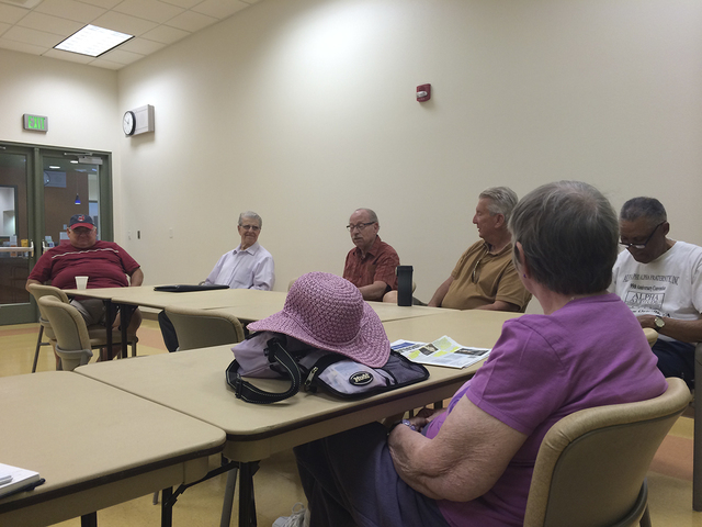 The Centennial Hills Active Adult Center, 6601 N. Buffalo Drive, provides a space for seniors to keep active not only through fitness, but also through active discussions. These meetings provide a ...