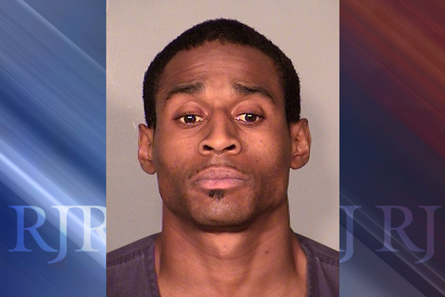 After an armed robbery of the South Point on May 11, 29-year-old Demone Lewis was arrested. (courtesy Las Vegas Metropolitan Police Department)
