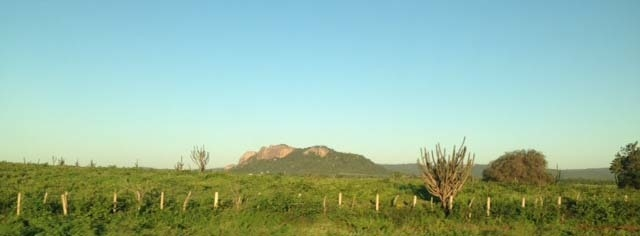 On the road from Natal, Brazil, to Fortaleza. (Brennan Karle, Las Vegas Review-Journal)
