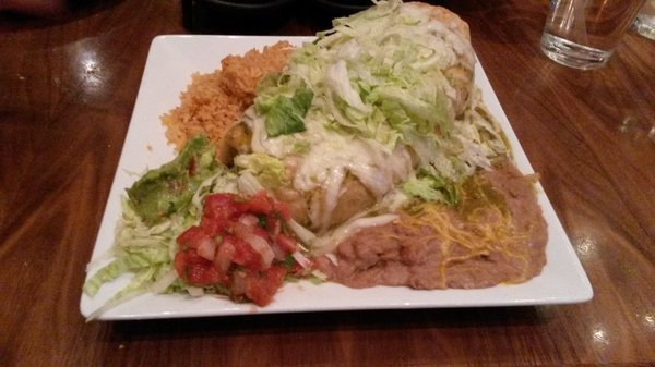 Meals at The Salted Lime at the Aliante feature large portions. (Special to View)