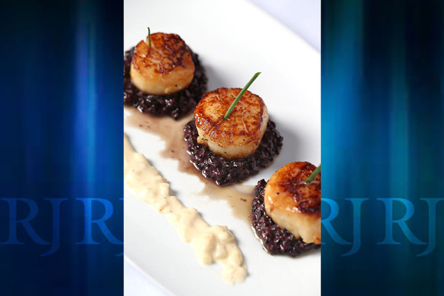Scallops a La CloClo from Bistro CloClo, a new addition to Visit Orlando's Magical Dining Month this year. (PRNewsFoto/Visit Orlando)