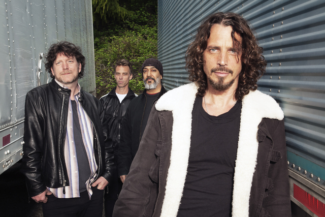 Soundgarden performs with Nine Inch Nails on Saturday at Planet Hollywood Resort. (Courtesy)