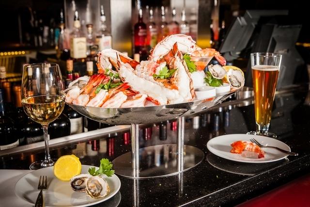 Seafood Jumbo Jackpot at the Charcoal Room at Palace Station. (Courtesy)
