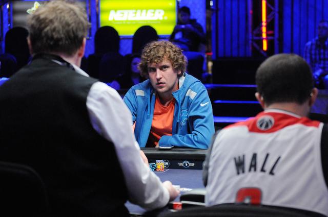 Micks strip poker opponents
