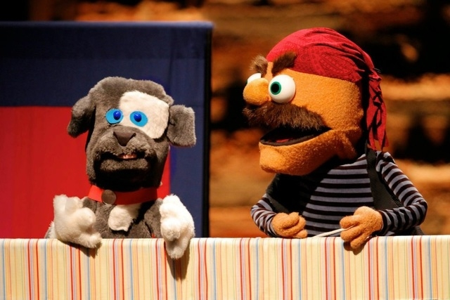 """Puppets help the """"Story Pirates"""" troupe create comedy sketches based on children's stories; the troupe will be in Las Vegas for two family-friendly performances. (Courtesy)"""