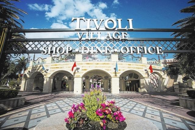 Tivoli Village at 440 S. Rampart Boulevard as seen Wednesday, March 26, 2014. (Jeff Scheid/Las Vegas Review-Journal)
