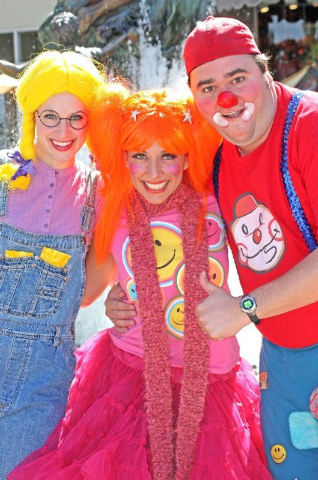 """Happy, Twinkle and Lil Hoopz team up for """"Twinkle Time,"""" coming to Charleston Heights Arts Center and the Historic Fifth Street School next week. (Courtesy)"""