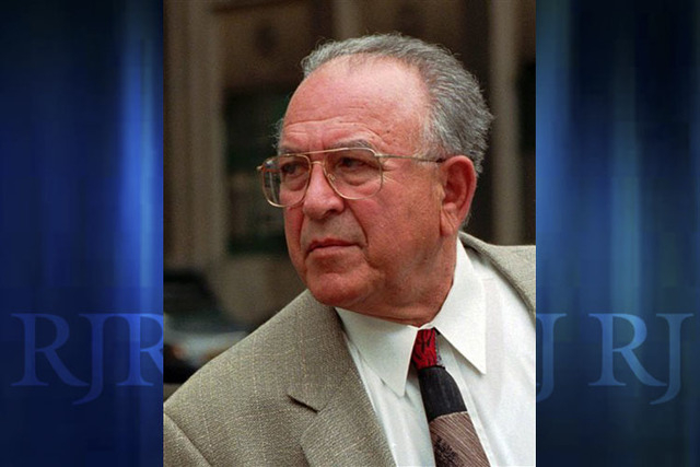 In this April 29, 1998 file photo reputed mob boss Jack Tocco leaves federal court in Detroit after being convicted of racketeering and conspiracy to commit extortion. Tocco, who had said he fough ...
