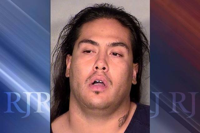 Joshua Bacharach. (Courtesy/Las Vegas Metropolitan Police Department)