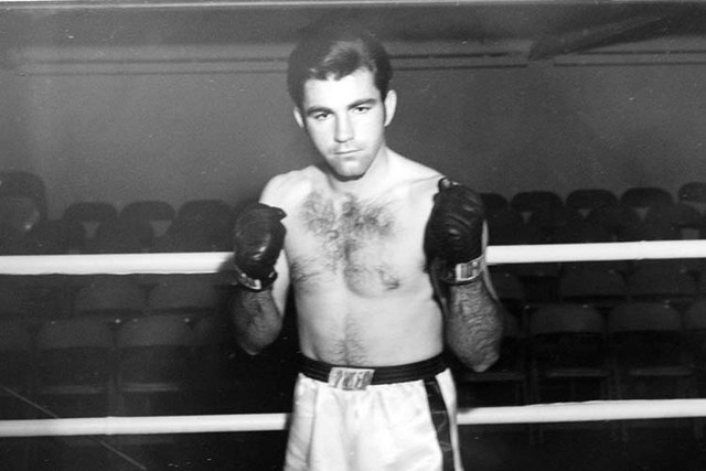 This is a photo of Gary Bates taken in 1969 as a professional boxer seen in his home in Las Vegas, Monday, Nov. 19, 2012. (Jerry Henkel/Las Vegas Review-Journal)