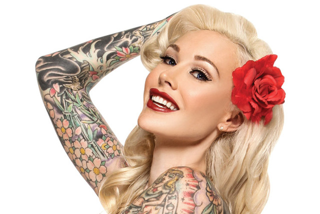 "Sabina Kelley hosts Oxygen's reality-TV tattoo competition ""Best Ink."" (Courtesy Julian Murray)"