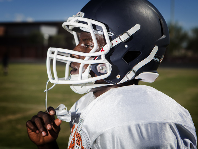 Legacy High running back DeMichael Walker rushed for 1,001 yards and 11 TDs last season. (Jeff Scheid/Las Vegas Review-Journal)