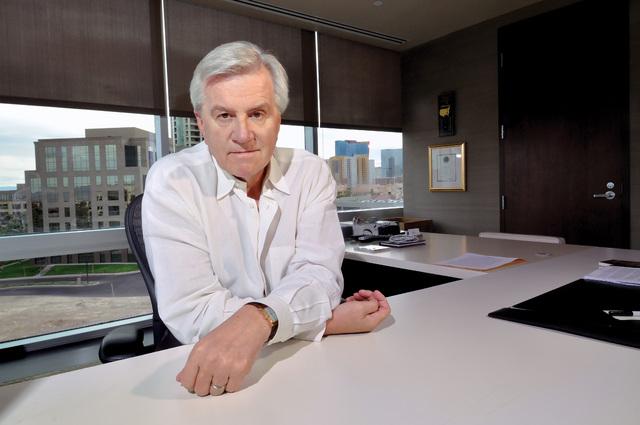 Sig Rogich. (Bill Hughes/Business Press)