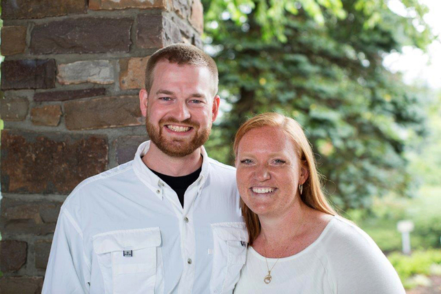 Dr. Kent Brantly and his wife, Amber, are seen in an undated photo provided by Samaritan's Purse. Brantly became the first person infected with Ebola to be brought to the United States from Africa ...
