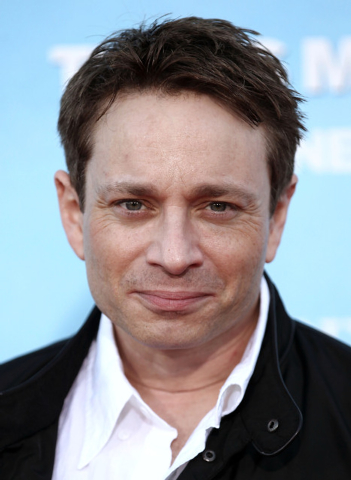 FILE - In this June 4, 2012 file photo, Chris Kattan arrives at a premiere in Los Angeles. On Thursday, Aug. 14, 2014, Kattan was sentenced to three years of probation for driving under the influe ...