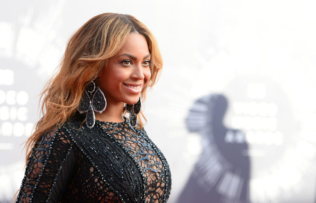 Beyonce arrives at the MTV Video Music Awards at The Forum on Sunday, Aug. 24, 2014, in Inglewood, Calif. (Photo by Jordan Strauss/Invision/AP)