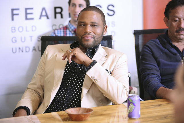 """This image released by ABC shows Anthony Anderson in a scene from the comedy """"Black-ish,"""" premiering Sept. 24. (AP Photo/ABC, Adam Taylor)"""