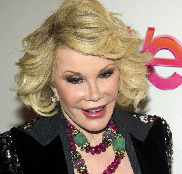 "FILE - In this Jan. 19, 2012, file photo, Joan Rivers attends a screening of the Season 2 premiere of WE TV's ""Joan & Melissa: Joan Knows Best?"" in New York. Two police officials say Riv ..."