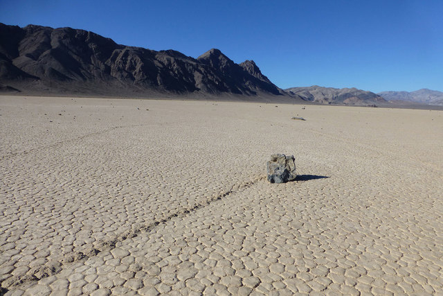Racetrack Playa in Death Valley (Courtesy/National Park Service)
