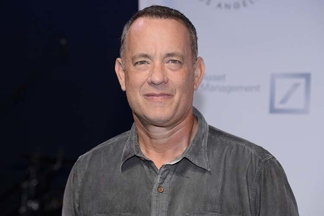 "Tom Hanks attends The Shakespeare Center of Los Angeles 23rd Annual Simply Shakespeare benefit reading of ""The Two Gentlemen of Verona"" in Santa Monica, California in this September 25,  ..."
