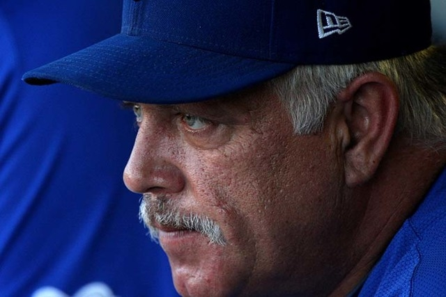 Las Vegas 51s skipper Wally Backman was named the PCL manager of the year. (Jessica Ebelhar/Las Vegas Review-Journal)