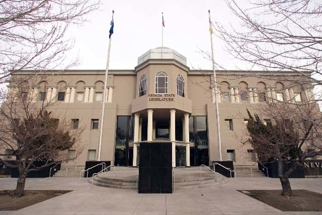 The Nevada State Legislature building