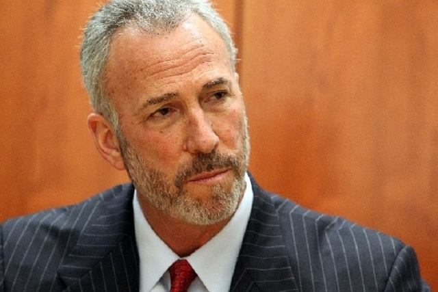 Clark County District Attorney Steve Wolfson (Review-Journal File Photo)