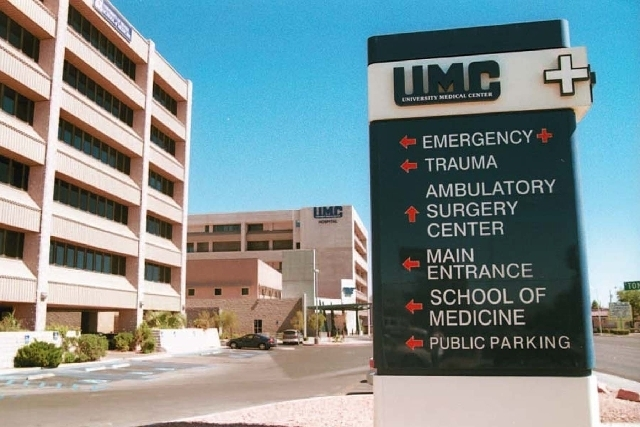 University Medical Center announced Wednesday they will lay off 224 employees. (Las Vegas Review-Journal file)