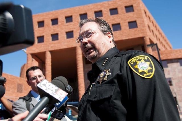 Las Vegas Township Constable John Bonaventura. (File, Las Vegas Review-Journal)