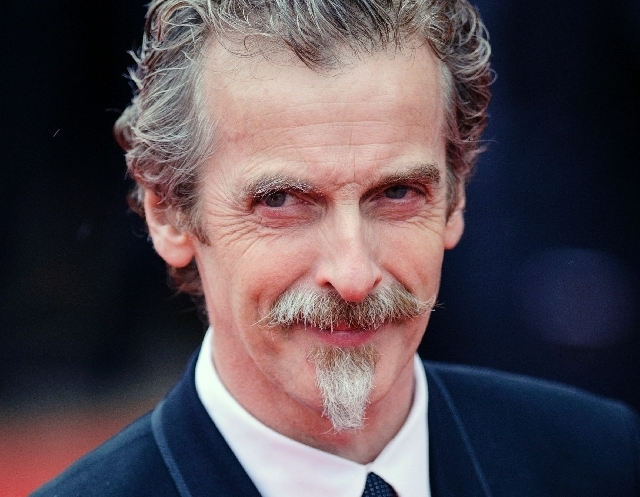 Glasgow-born actor and Oscar winner Peter Capaldi, as he appeared in London on May 12. (AP/File)