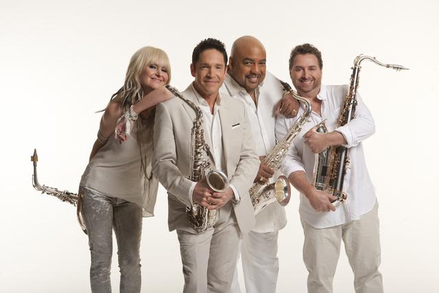 Summer Horns members Mindi Abair, from left, Dave Koz, Gerald Albright, Richard Elliot. (Greg Allen/Courtesy)