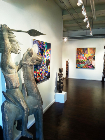Left of Center Gallery in North Las Vegas celebrates its expanded African art collection with a Saturday afternoon reception. Courtesy photo.