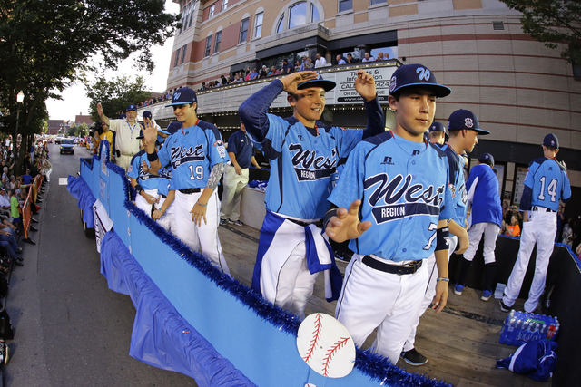 After its finished playing at the Little League World Series, the Mountain Ridge team will be honored in Las Vegas on Aug. 30. The players should be getting used to parades, such as this one that  ...