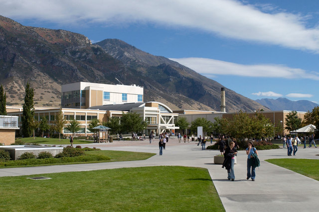 Brigham Young University. (Courtesy, BYU)