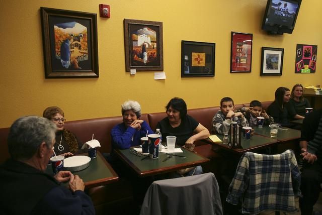 Diners visit Carlito's Burritos in Las Vegas. (Jason Bean/Las Vegas Review-Journal File)