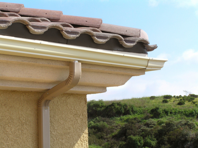 Thinkstock Clay tiles come curved or flat, color-glazed and in a variety of surface textures.