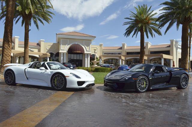 Porsche Las Vegas >> Gaudin Porsche Announces Arrival Of 918 Spyder Supercar Las Vegas