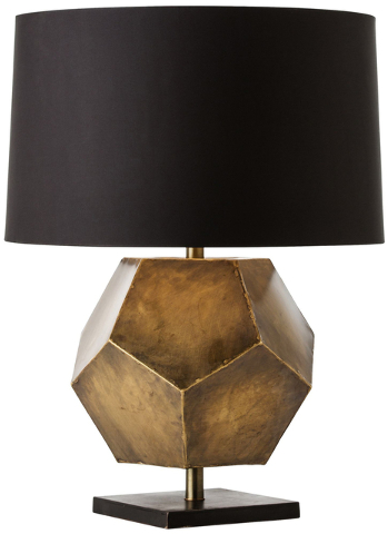 Courtesy Lamps Plus ARterior's Home Drea Geometric table lamp is available at Lamps Plus.
