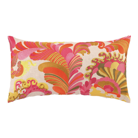 Courtesy Wayfair.com Trina Turks' '70s-style print linen pillow hits the pop art mark and makes a great accent for those wanting to add a touch or two of the decor style to their spaces. With midc ...